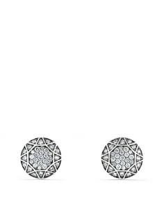 David Yurman - Pavé Cufflinks with Gray Sapphire