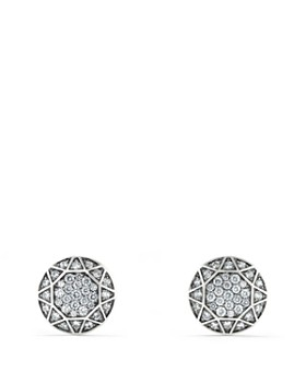David Yurman - Pavé Cufflinks with Gray Sapphire