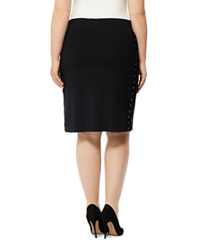 Rebel Wilson x Angels Plus - Lace-Up Pencil Skirt