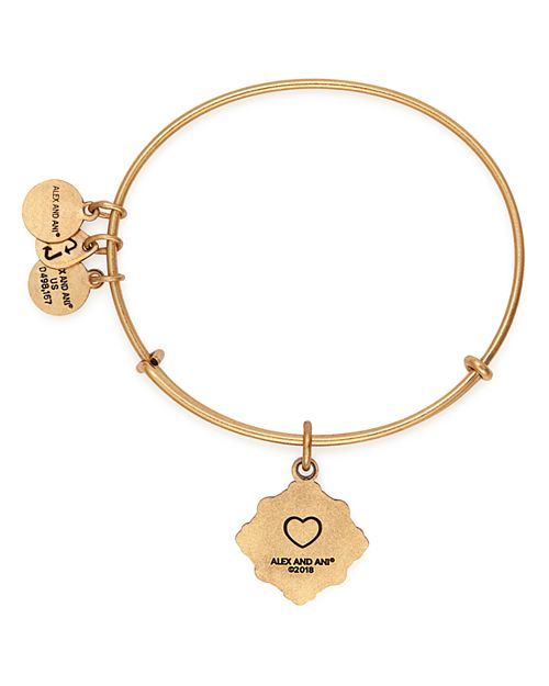 Alex And Ani Grandmother Expandable Wire Bangle Bracelet