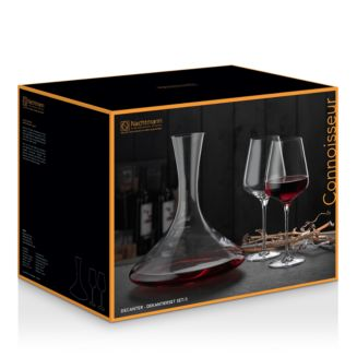 Nachtmann Vi Nova Decanter And Glasses Set   100 Percents Exclusive by Riedel