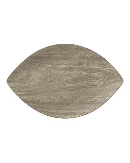 Merritt - Heartwood Leaf Melamine Serving Tray