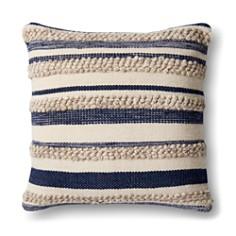 "Loloi Magnolia Home Striped Decorative Pillow, 22"" x 22"" - Bloomingdale's_0"
