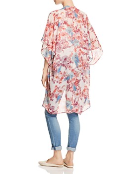 Status by Chenault - Floral Duster Kimono