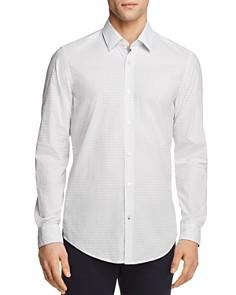BOSS Lukas Dot Print Regular Fit Button-Down Shirt - Bloomingdale's_0
