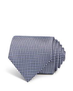 Emporio Armani Check Stitch Classic Tie - Bloomingdale's_0