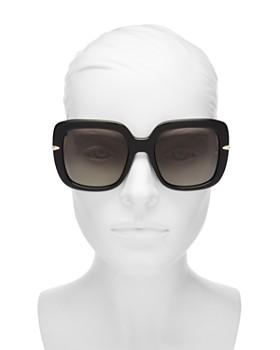 rag & bone - Women's 1004 Polarized Square Sunglasses, 56mm