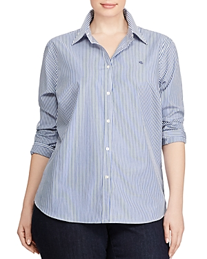 Lauren Ralph Lauren Plus Non Iron Dress Shirt