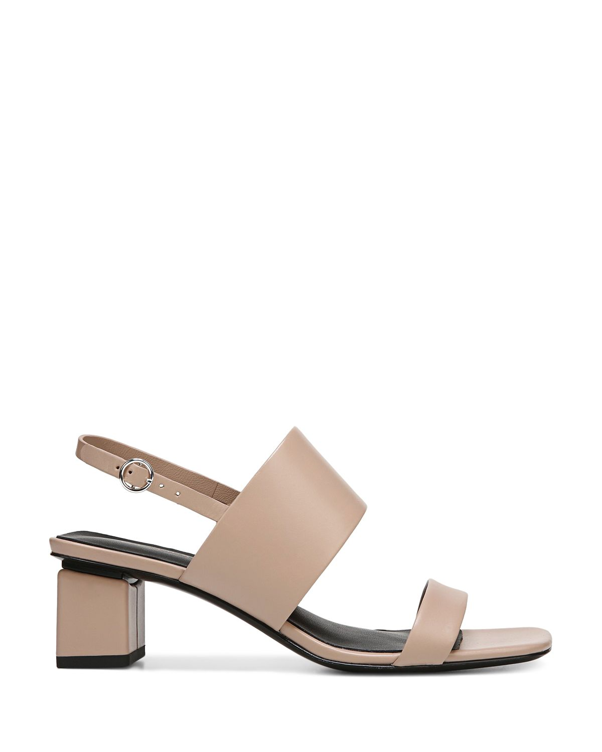 Women's Forte Leather Slingback Block Heel Sandals  by Via Spiga