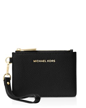ccb07f5c6aa3 MICHAEL Michael Kors - Small Leather Wristlet ...
