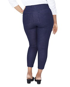NYDJ Plus - Alina Cropped Denim Leggings in Rinse