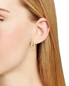 Atelier Swarovski - Bolster Small Hoop Earrings