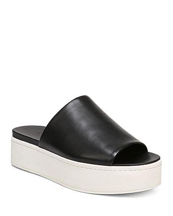 3a2ecdee5d6 Vince - Women s Walford Platform Slide Sandals