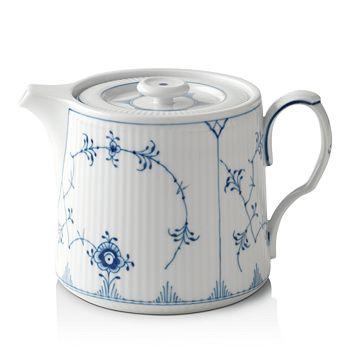 Royal Copenhagen - Blue Plain Teapot