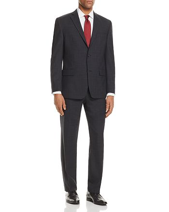 Michael Kors - Plaid with Windowpane Classic Fit Suit Separates - 100% Exclusive