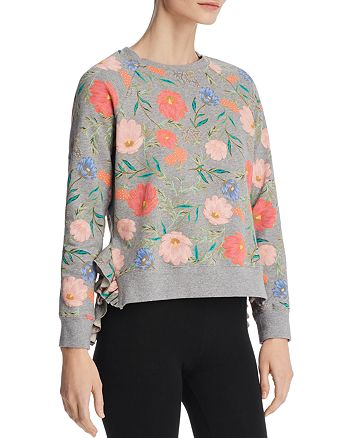 4c6ac1ad618 kate spade new york - Blossom Cropped Sweater