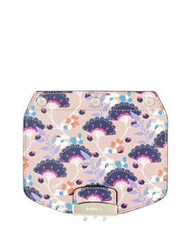Furla - MY PLAY Interchangeable Metropolis Mini Gingko Print Leather Flap