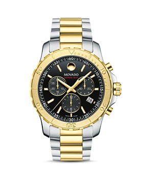 Movado - Series 800 Two-Tone Chronograph, 42mm