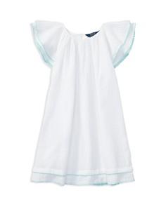 Polo Ralph Lauren Girls' Flutter Sleeve Dress - Little Kid - Bloomingdale's_0