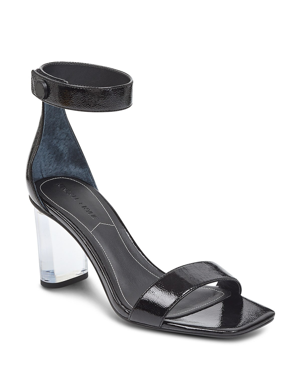Kendall And Kylie Women's Lexx Patent Leather & Lucite High-Heel Sandals MQAGUxb