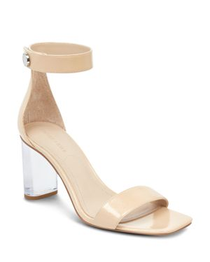 KENDALL AND KYLIE WOMEN'S LEXX PATENT LEATHER & LUCITE HIGH-HEEL SANDALS