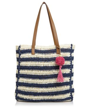 Echo Striped Straw Tote 2897618