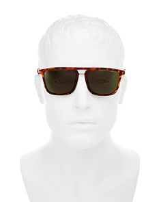 Polaroid - Men's Polarized Square Sunglasses, 56mm