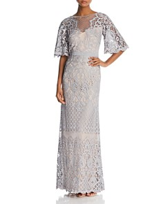 Bell Sleeve Evening Formal Gowns Bloomingdales