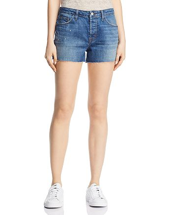J Brand - Gracie High Rise Denim Shorts in Indiana