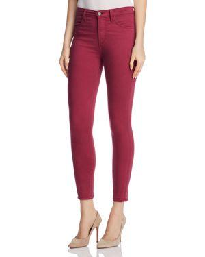 J Brand Alana Sateen Skinny Jeans in Deep Plum - 100% Exclusive 2892851