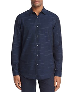 Theory Tait Broken Stripe Button-Down Shirt - Bloomingdale's_0