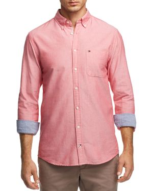 Tommy Hilfiger Engineered Oxford Regular Fit Button-Down Shirt 3046314