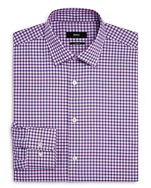 Boss Double Check Regular Fit Dress Shirt