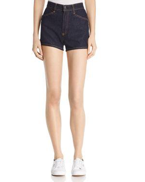 rag & bone/Jean Ellie Denim Shorts in Indigo