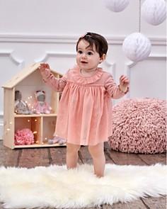 Elegant Baby - Girls' Sparkle Tulle Bodysuit Dress - Baby