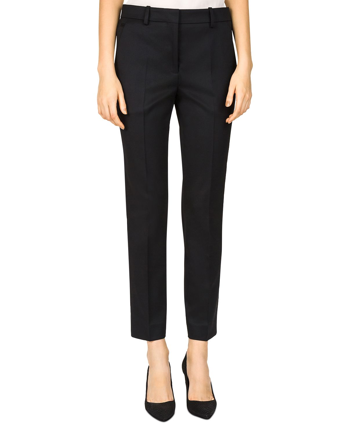 Cropped Stretch Pants by The Kooples