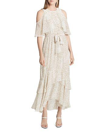 f537027610e Calvin Klein - Leopard-Print Tiered Maxi Dress
