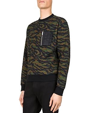 The Kooples Camo Sweatshirt