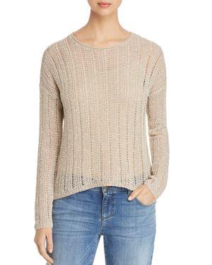Eileen Fisher Drop-Stitch Sweater