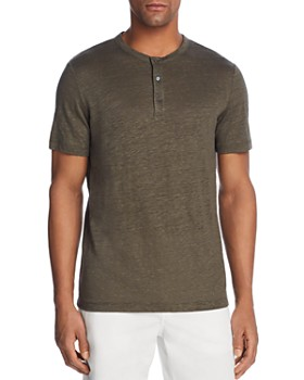 Theory - Essential Short Sleeve Henley - 100% Exclusive