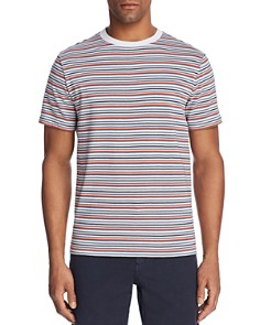 Theory Classic Surfer Striped Crewneck Tee - Bloomingdale's_0