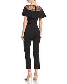 Adrianna Papell - Lace Inset Jumpsuit