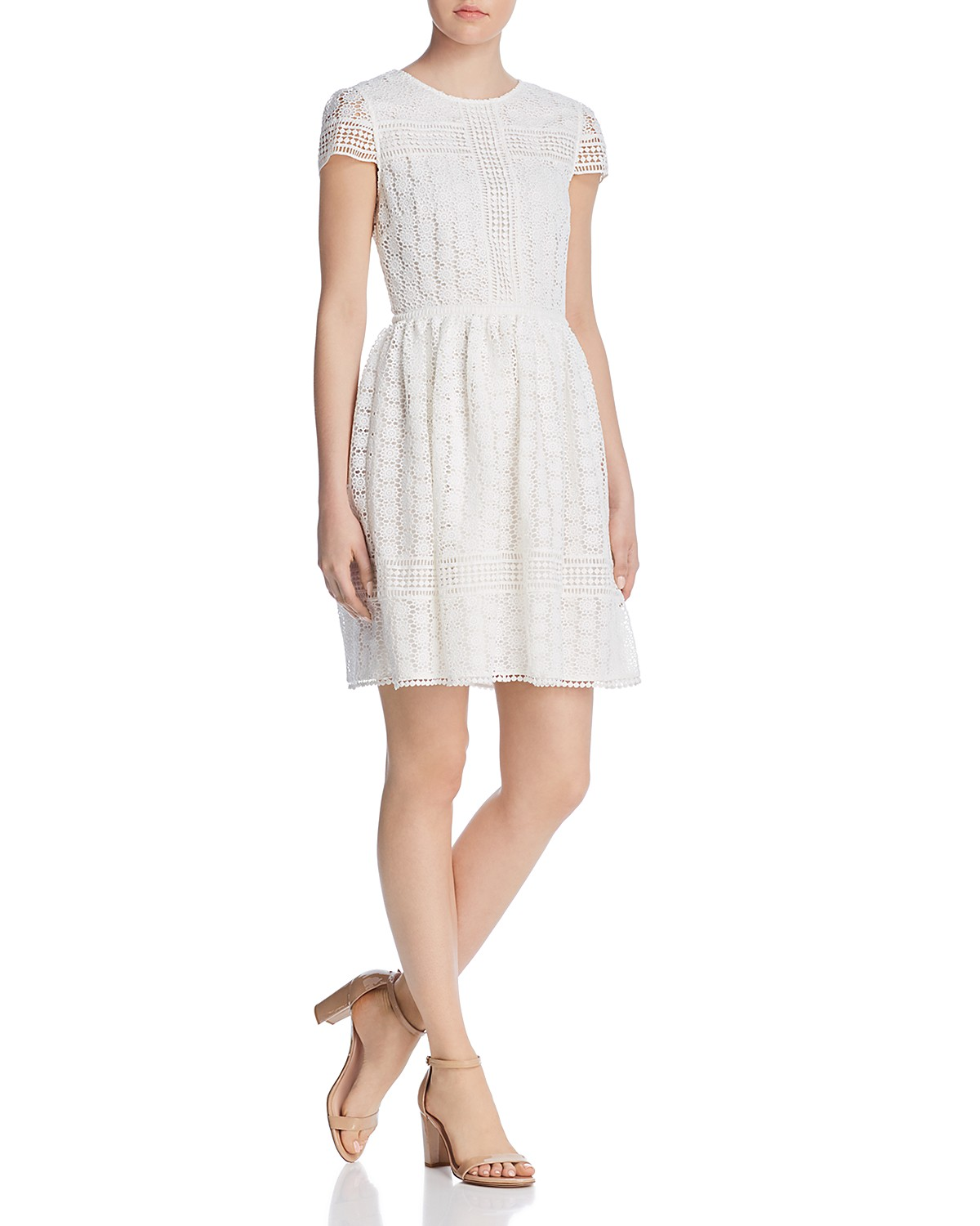 FRENCH CONNECTION Parker Lace A-line Dress | Bloomingdale\'s