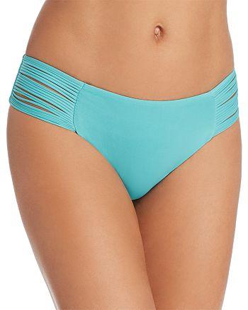 ISABELLA ROSE - Beach Solids Strappy Maui Fit Bikini Bottom
