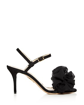 Charlotte Olympia - Women's Reia Suede & Organza Slingback High-Heel Sandals