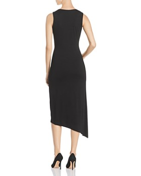 VINCE CAMUTO - Twist-Front Asymmetric Midi Dress - 100% Exclusive