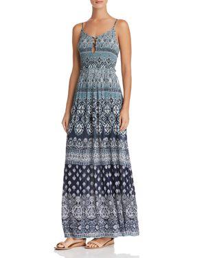 Aqua Batik Print Maxi Dress - 100% Exclusive 2875294