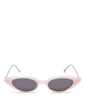 9a3df0c49685 Illesteva - Women's Marianne Slim Cat Eye Sunglasses, ...