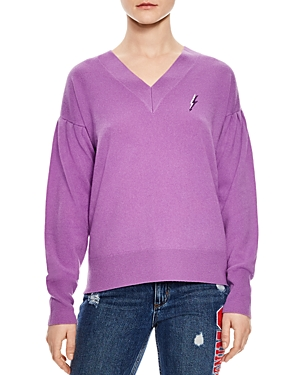Sandro Ourida Wool & Cashmere Alright Graphic Sweater