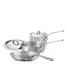 Mauviel - M'Cook Stainless Steel 5-Piece Cookware Set